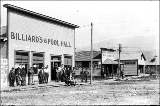 Fairley's Billiard's and Pool Hall, Gold Bar, ca. 1913