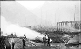 Index Galena Co. lumber yard fire, 1911