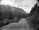 Stevens Pass Highway with Mt. Persis in the background, n.d.