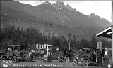 Baring gas station on Stevens Pass Highway, n.d.