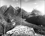 Gunn Peak and Mt. Baring from Lookout Point, 1926