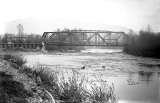 Bridges across the Sultan River, Sultan, at the confluence of the Sultan and Skykomish Rivers, n.d.