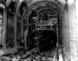Concrete machine, interior of Winton Tunnel, August 10, 1928