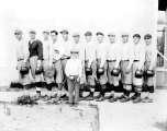 Baseball team, Lundeen Park on the north side of Lake Stevens, July 22, 1928