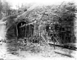 Construction at the East portal, Winton Tunnel,  August 10, 1928
