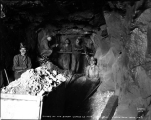 Miners underground at the Sunset Copper Co. mine, Index, Washington, ca. 1929