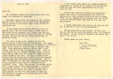 Judith Waller letter to Dee Molenaar recounting her numerous ascents of Mount Rainier during the...
