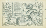 Political cartoon regarding the Cannery Workers and Farm Laborers Union, Local 18257, their...