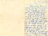 Yuriko Yamauchi letter to Ella C. Evanson regarding life in Camp Harmony, Section C of the...