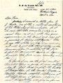 Vernon Ross Jr. letter To Norio Higano about his objections to Executive Order 9066, and his...