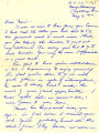 Letter to Norio Higano about travel restrictions and forced evacuation for Japanese-Americans in...