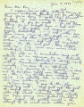 Bill Makino letter to Mabel Ring discussing life at Camp Harmony and asking after Gordon...