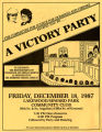 Committee for Justice for Domingo and Viernes flyer for event celebrating the reinstatement of...