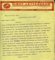 Frank W. Trower telegram to Senator Wesley Jones regarding prohibition and worker efficiency in...