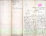 L.W. Redmond letter to Washington Territory Governor Semple regarding women's suffage, January 19,...