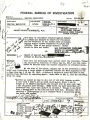 "FBI Report 100-10 266 regarding ""Alien Enemy Control, Evacuation Order Violator, and Curfew..."