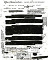 FBI Memorandum from an unidentified agent regarding the investigation of the Alien Enemy Control...