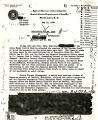 J. C. Strickland letter to D. M. Ladd, an Assistant Director of the FBI, with a report on the...
