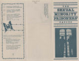 Sexual Minority Prisoner's Caucus Informational Brochure, April 4, 1981