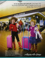 Alaska Air Group pamphlet containing statistics about its impact on Washington State economy,...