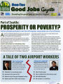 Newsletter for and by SeaTac airport workers against unsafe working conditions and lack of hours,...