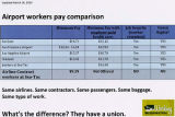 Airport workers pay comparision sheet, March 26 2013