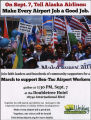 "Invitation to ""join faith leaders and hundreds of community supporters to march in support of..."
