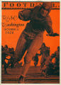 Football program, Washington State College vs. University of Washington, October 23, 1926
