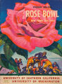 The Twenty-Ninth Annual Tournament of Roses Football Game, University of Washington vs. University...