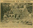 Washington Park Arboretum Lodgehouse is built, The Seattle Daily Times, October 14, 1937