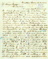 Arthur A. Denny letter to Gilmore Hays, regarding the election of Washington Territory's...