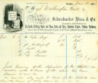 Schwabacher Hardware Company receipt for goods purchased by the Washington Mill Company, January...