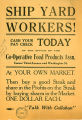 Co-Operative Food Products Association flyer