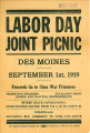 Labor Day Joint Picnic in Des Moines, Washington, September 1, 1919