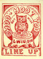 "Silent agitator issued by Lumber Workers' Industrial Union No. 500: ""Hoo-hoo? You."""