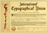 International Typographical Union charter for Local #99 in Seattle and Tacoma, Washington, dated...
