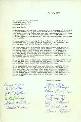 Letter from leaders in Seattle labor organizations to Joseph Gandy regarding the success of the...