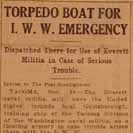 101. Torpedo Boat for I.W.W. Emergency