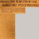 033. Prosecution Nears End of Case Against Free Speech Prisoners