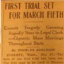 025. First Trial Set for March Fifth