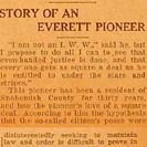 012. Story of an Everett Pioneer