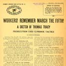 047.  Workers! Remember March the Fifth! A sketch of Thomas Tracy