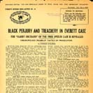 048. Black Perjury and Treachery in Everett Case, the Harry Orchard of the free speech case is...