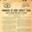 050. Progress of First Everett Trial, important admission wrung from state witnesses