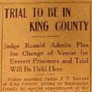 026. Trial to be in King County