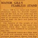 006. Mayor Gill's Fearless Stand
