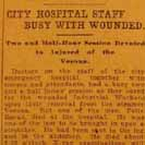066. City Hospital Staff Busy with Wounded