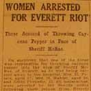 061. Women Arrested for Everett Riot