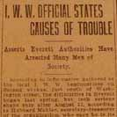 059. I.W.W. Official States Causes of Trouble
