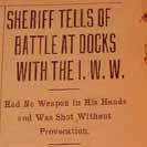 075. Sheriff tells of battle at docks with the I.W.W.